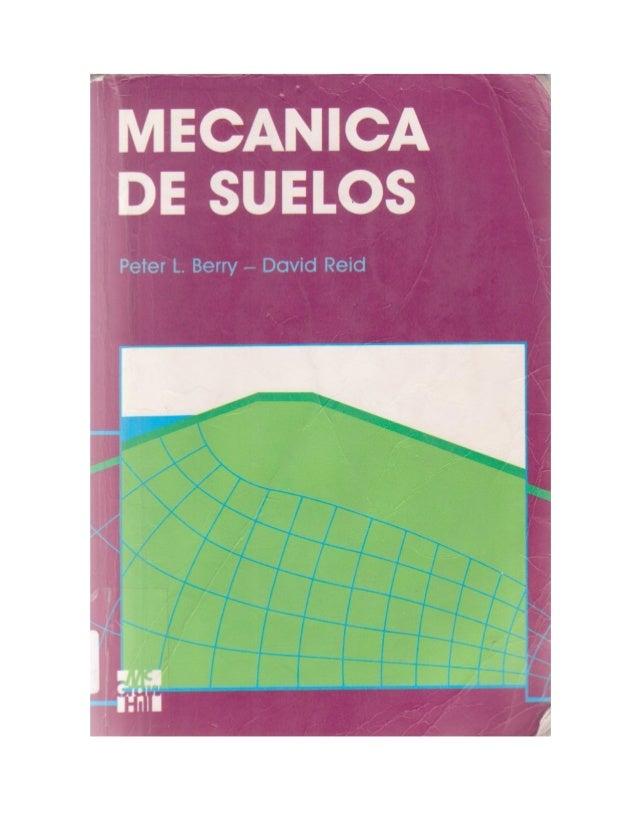 Mecanica de-suelos - Peter L. Berry