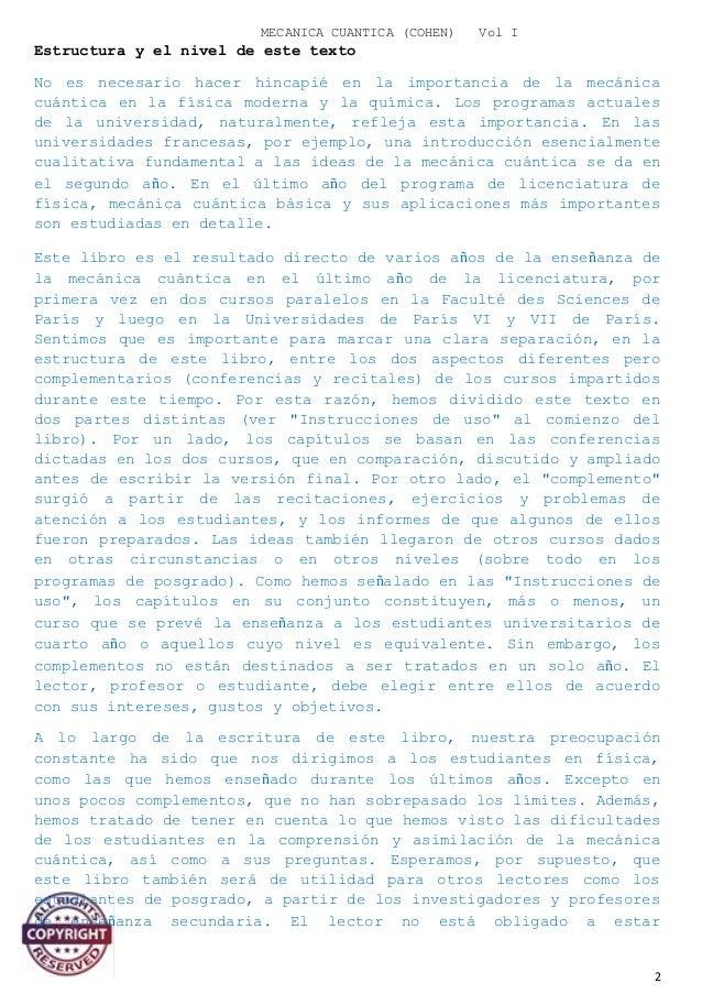 Mecanica cuantica 1 vol 1 2 mecanica cuantica urtaz Images