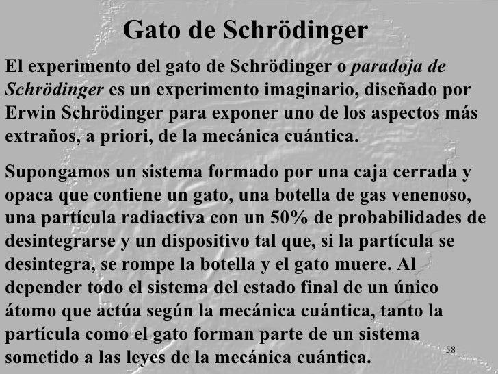 Paradoja de Schrödinger