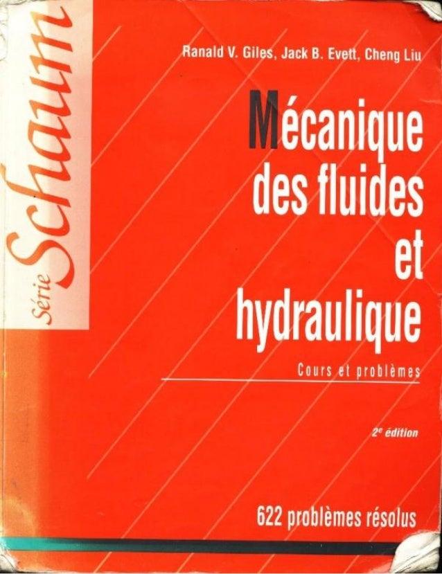 Mecanique des fluides et hydraulique bis
