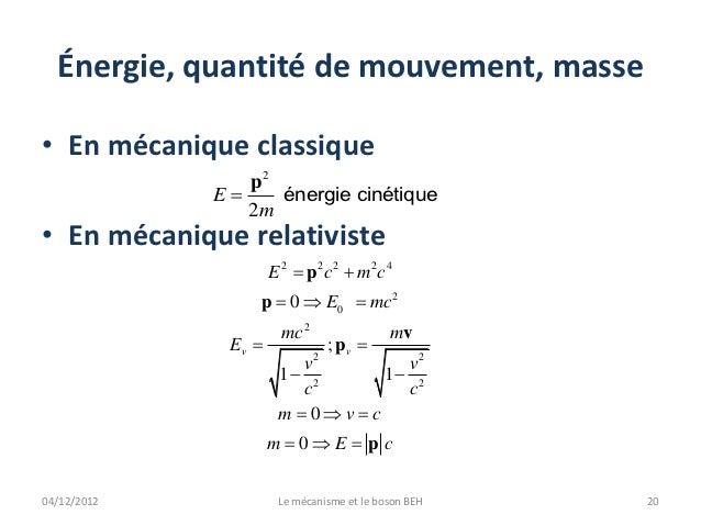 energie relativiste