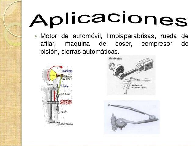 Qué es un mecanismo biela manivela