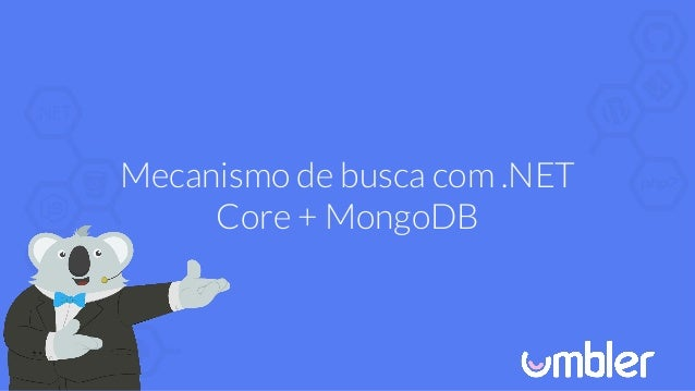 Mecanismo de busca com .NET Core + MongoDB