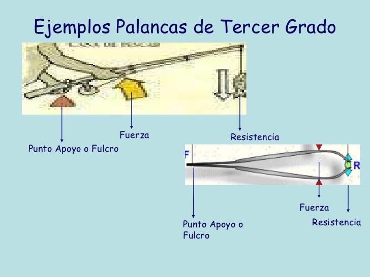 Ejemplos De Palancas De Primer Genero Colección De Ejemplo