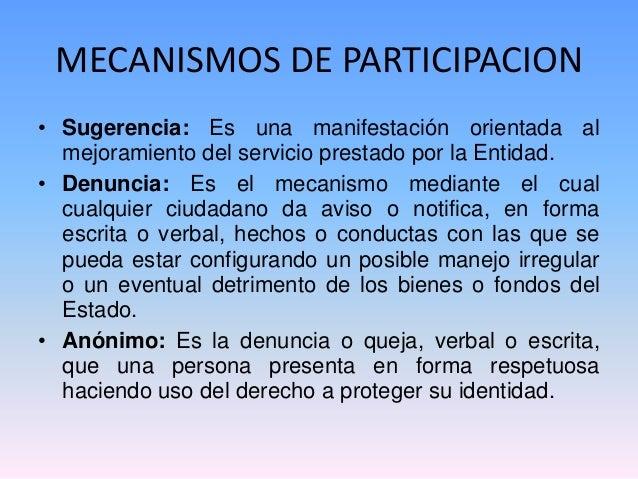 Mecanismo de participacion ciudadana yahoo dating 3