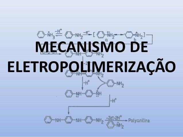 MECANISMO DE ELETROPOLIMERIZAÇÃO