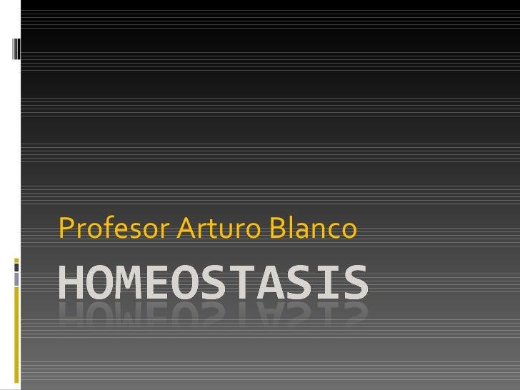 Mecanismos homeostaticos