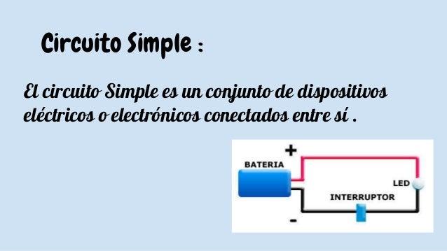 Circuito Simples : Mecanismos y circuitos