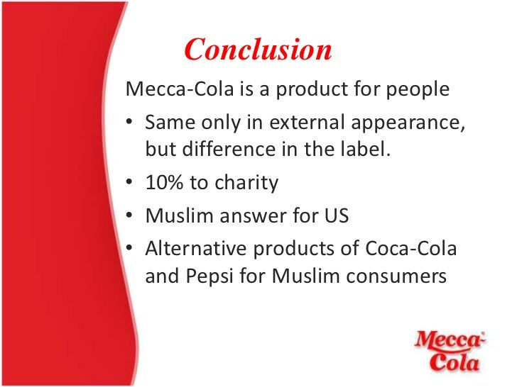 mecca cola We are mecca cola and we make halal soft drinks our drinks not only taste great  but we are committed to giving 20% of all profits to charity we are not a normal.