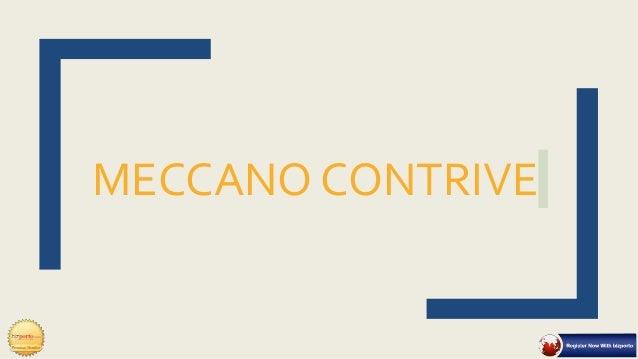 MECCANO CONTRIVE