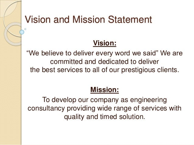mission and vision statement of ariel pvt ltd Our mission and vision our mission is to discover new ways to improve and extend people's lives we use science-based innovation to address some of society's most.