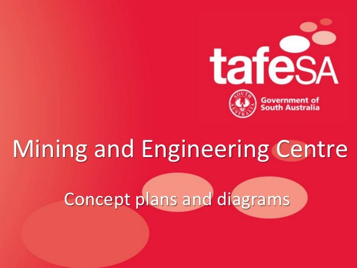 Mining and Engineering Centre    Concept plans and diagrams