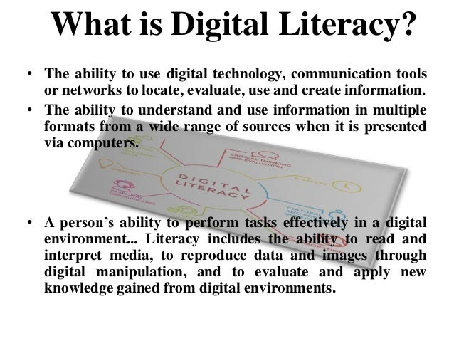 importance of digital literacy Our era has come to see the vital importance of digital technology in our daily lives it allows us to unlock a huge collection of information and communication data each kind of task, be it a regular task or a job specific task requires digital proficiency or literacy.