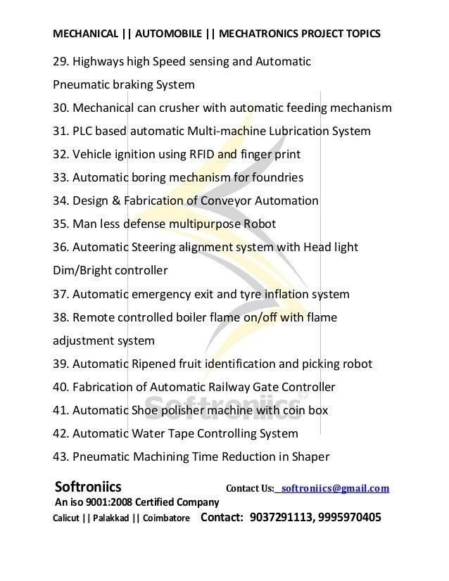 Arduino Project Ideas