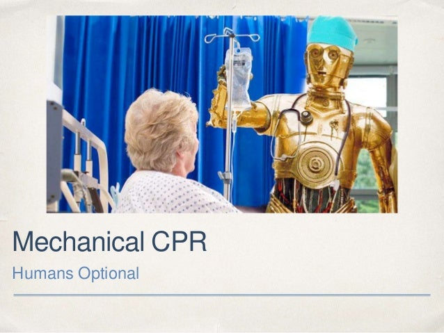 Mechanical CPR Humans Optional
