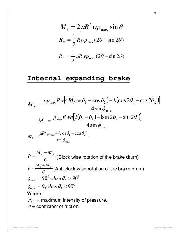 Mechanical Design Data Hand Book
