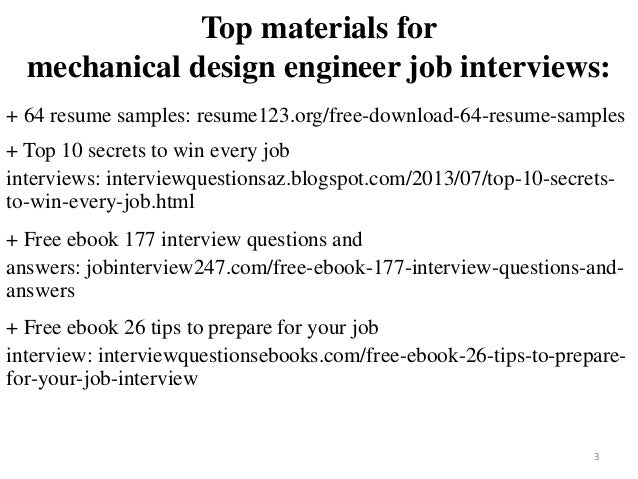 Mechanical Design Engineer Resume Sample Pdf Ebook