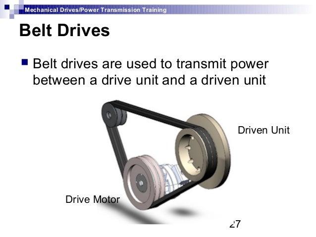 Mechanical Drives Amp Power Transmission