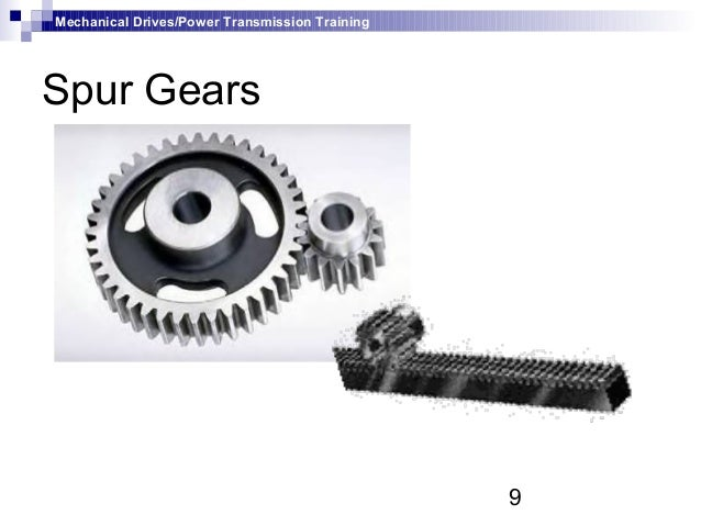 mechanical power transmission devices pdf
