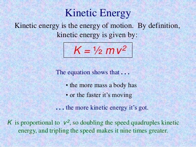 Mechanical Energy For 9th Grade Physics Chapter 6