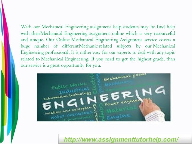 mechanical engineering assignment help mechanical engineering assignment topics assignmenttutorhelp com 4