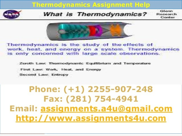 assignmentsu mechanical engineering assignments help online mechanic  thermodynamics assignment
