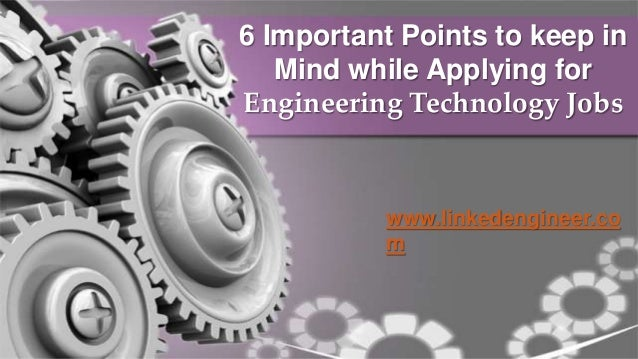 6 Important Points to keep in Mind while Applying for ...
