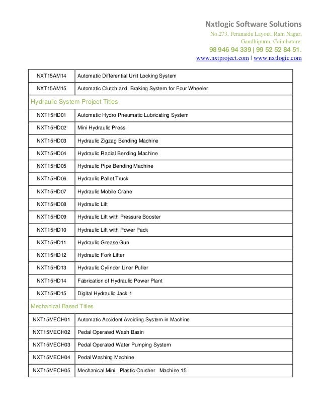research project topics pdf