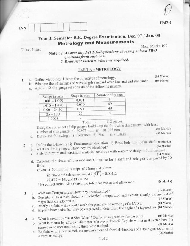 Intermediate grade drawing examination question papers