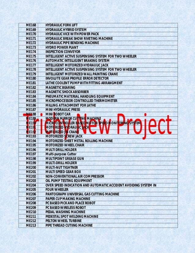 Mech Mini Project Pdf