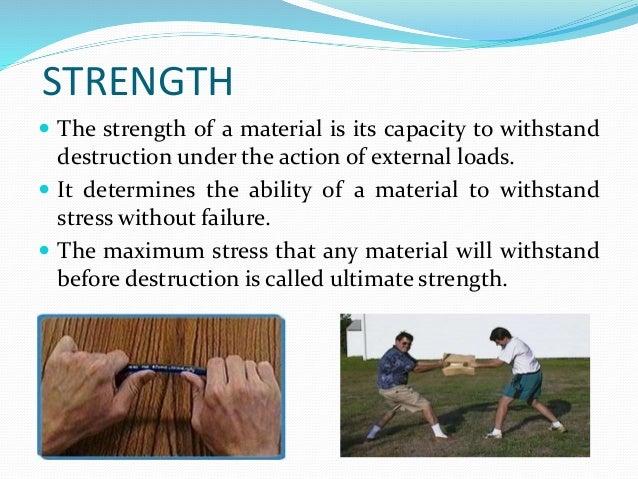 Mechanical Properties Of Materials