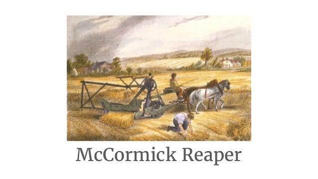 McCormick Reaper