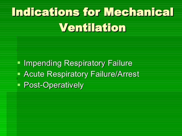 NurseReview.Org - Introduction to Mechanical Ventilation Slide 2