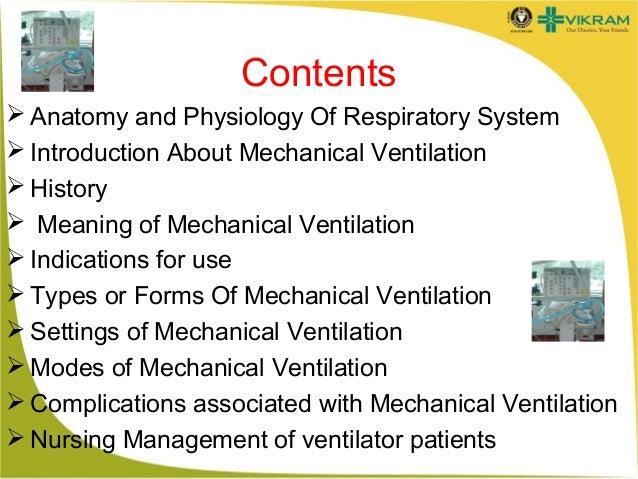 Mechanical ventilation Slide 2