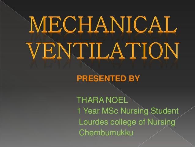 PRESENTED BY THARA NOEL 1 Year MSc Nursing Student Lourdes college of Nursing Chembumukku