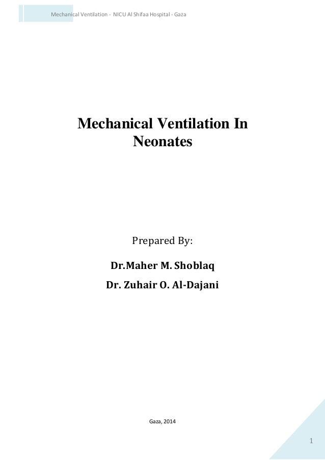 Mechanical ventilation in neonates Slide 2