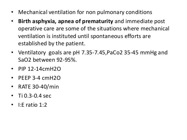 • Post extubation care • After extubation close monitoring and care should be provided • CPAP appears to stabilize the upp...