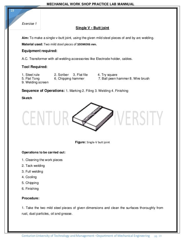 a suggested scheme of workshop technology laboratory work for part 2 of the c g l i mechanical engineering technicians course 293 teaching research publications