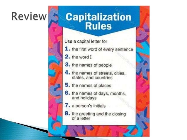 Enjoy Teaching Capitalization - Enjoy Teaching