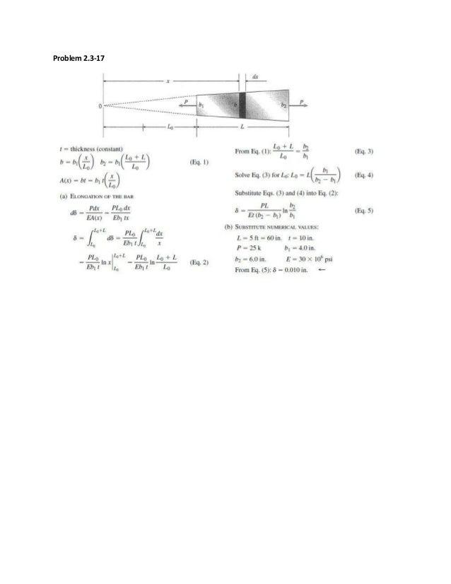 mechanics of materials solution manual 9th edition