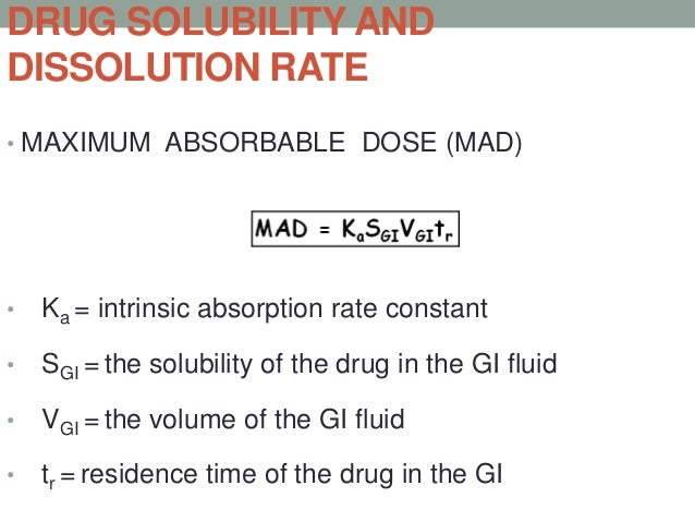 CLAS   SOLUBILIT   PERMIABILIT   ABSORPTION   RATE        EXAMPLES      Y           Y              PATTERN     LIMITING   ...