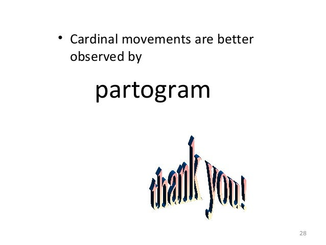 cardinal movements of labor
