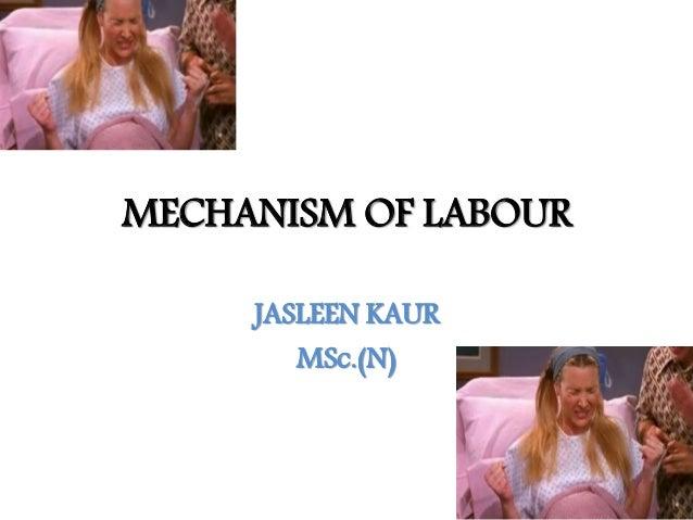 MECHANISM OF LABOUR JASLEEN KAUR MSc.(N)