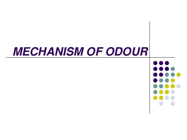 MECHANISM OF ODOUR