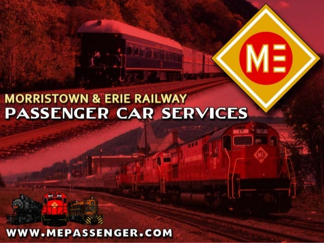 Who We AreThe modern Morristown & ErieRailway traces its roots to theWhippany River Railroad, charteredin 1895 to connect ...