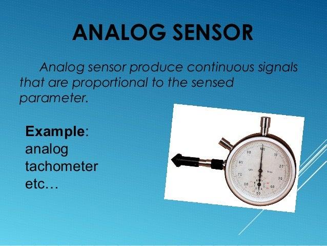Sensors Its Type