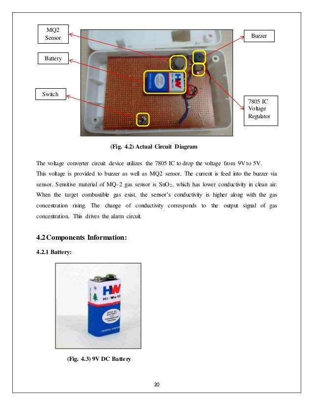 LPG Detection Mechatronic System