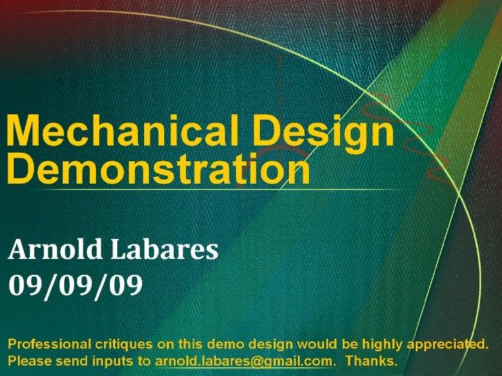 Mech Design Demo