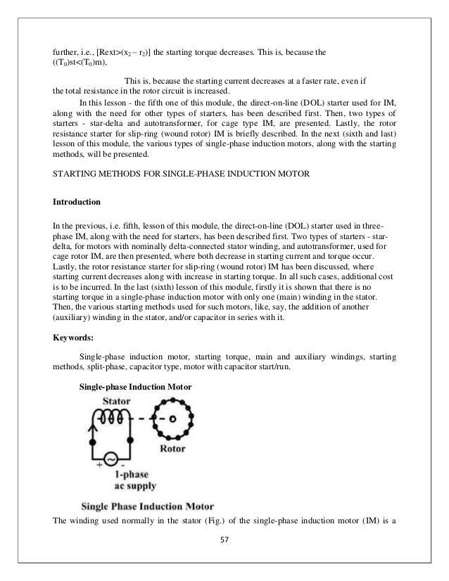 Mech Ee Edcnotes on 3 Phase Motor Starting Auto Transformer Diagram