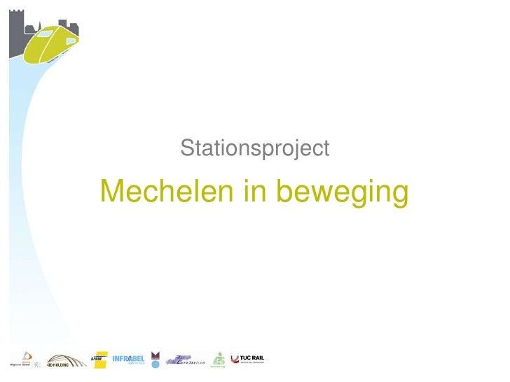 StationsprojectMechelen in beweging